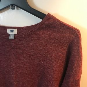 Maroon Long Sleeve Sweater